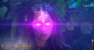 Cassiopeia using her clairvoyance