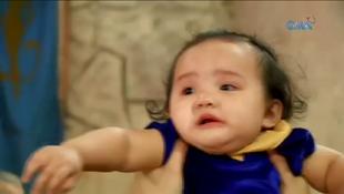 <center>Cassandra as a baby in Episode 218</center>