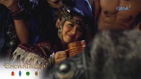 Encantadia- Ang hamon ni Vish'ka kay Danaya