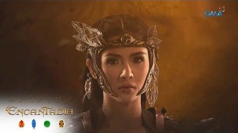 Encantadia Sangg're Danaya's warrior transformation