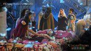 Mira mourns over Pirena's body