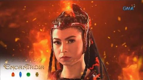 Encantadia Sangg're Pirena's warrior transformation
