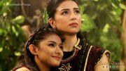 Mira and Pirena looks at Hathoria