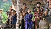 Lira, Danaya and Wantuk brought before Vish'ka