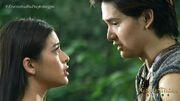 Alena and Ybarro face to face