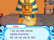 The Sphinx's second challenge succeeded