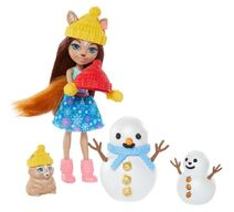 Doll stockphotography - Snowman Face-Off II
