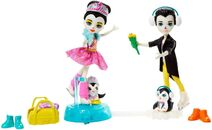 Doll stockphotography - Darling Ice Dancers I