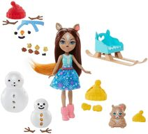 Doll stockphotography - Snowman Face-Off III