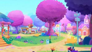 Enchanted Everwilde - Wonderwood Village panorama