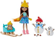 Doll stockphotography - Snowman Face-Off I