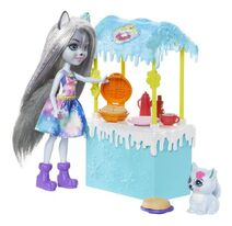 Doll stockphotography - Warmin' Up Cocoa Stand III