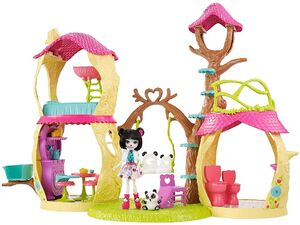 Doll stockphotography - Playhouse Panda Set I