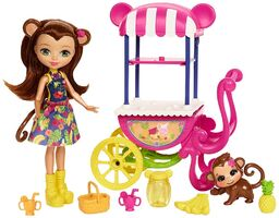 Doll stockphotography - Fruit Cart I
