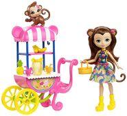 Doll stockphotography - Fruit Cart II