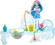 Doll stockphotography - Fishing Friends II