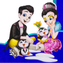 Profile art - Patterson Penguin & Preena Penguin