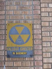 Fallout shelter in basement
