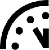 Doomsday clock svg