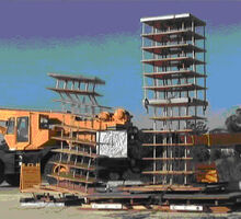 Snapshot of earthquake-like crash testing