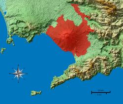 Zona rossa Vesuvio