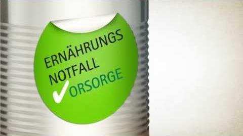 Ernährungsnotfallvorsorge in Sachsen