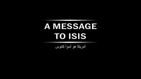 A Message to ISIS From AMERICA