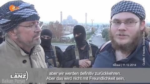 Jürgen Todenhöfer, bei Markus Lanz über die ISIS IS am 30.4.2015-