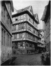 Ludwig Bickell-Hessische Holzbauten-Heft 02 03-1891-010-Cassel Klostergasse Nr 7 c 1640