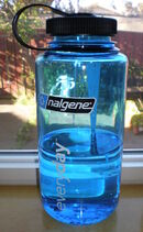 Blue 1000 ml Nalgene everyday wide mouth bottle 2