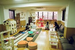 Nekokaigi, a cat cafe in Kyoto - March 16, 2010