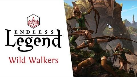 Endless Legend - Major Factions - The Wild Walkers