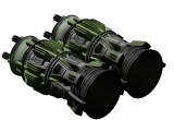 Small atomic thruster
