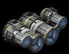 Medium ion thruster