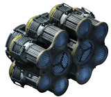 Huge ion thruster