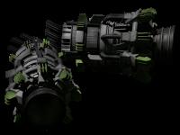 Huge atomic steering