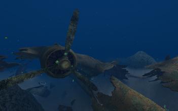 Fighter Wreckage