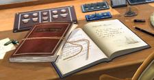Encyclopedia (in cabin)