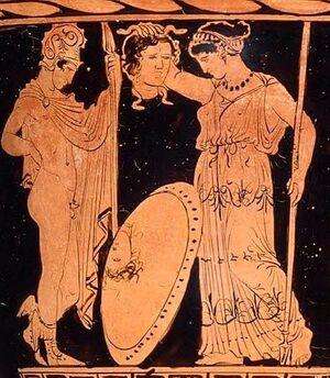 Perseus, Athena, and Medusa