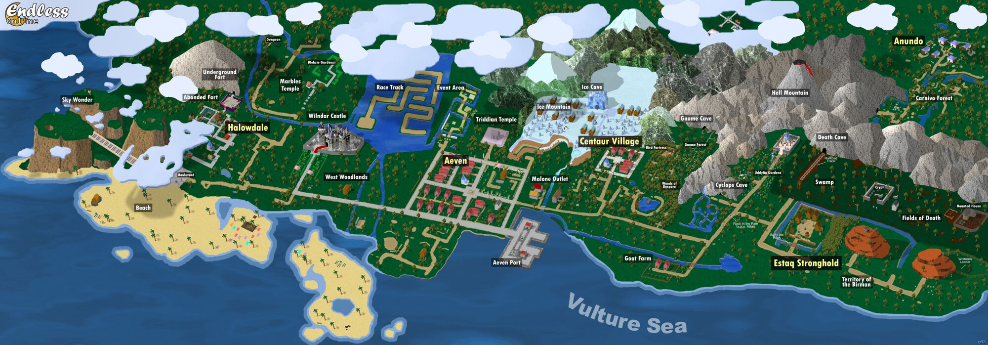 Map endless online wiki fandom powered by wikia gumiabroncs Images