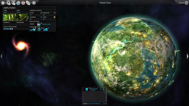 Endless Space - Planetary View RGB