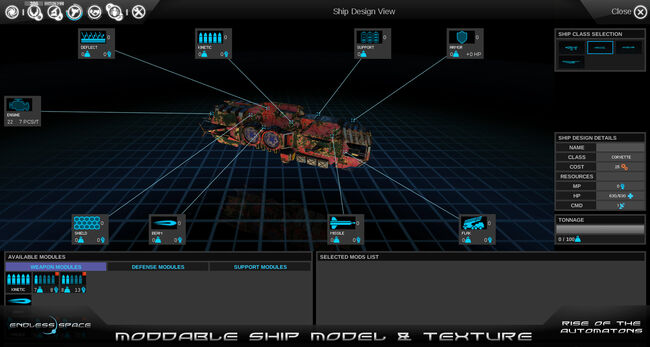 Moddable Ship Model & Textures