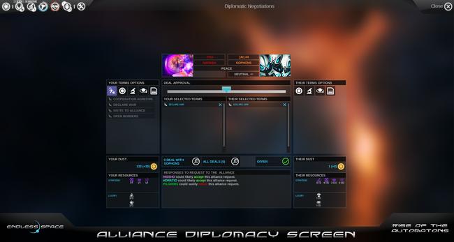 Alliance Diplomacy Panel 2