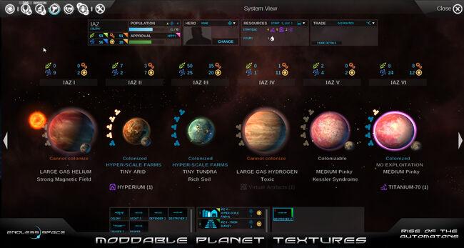 Moddable Planet Textures