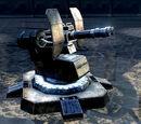 Maschinengewehr-Turm