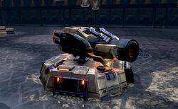 Artillery-turret