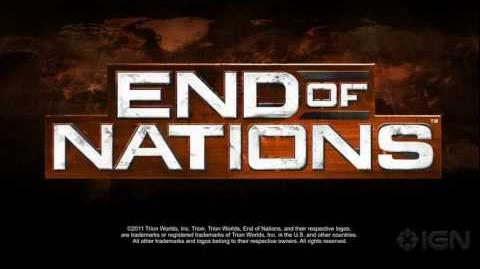 End of Nations Factions Trailer