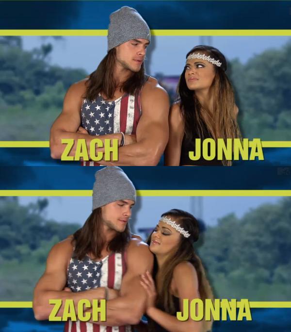 Jonna real world dating zachs word