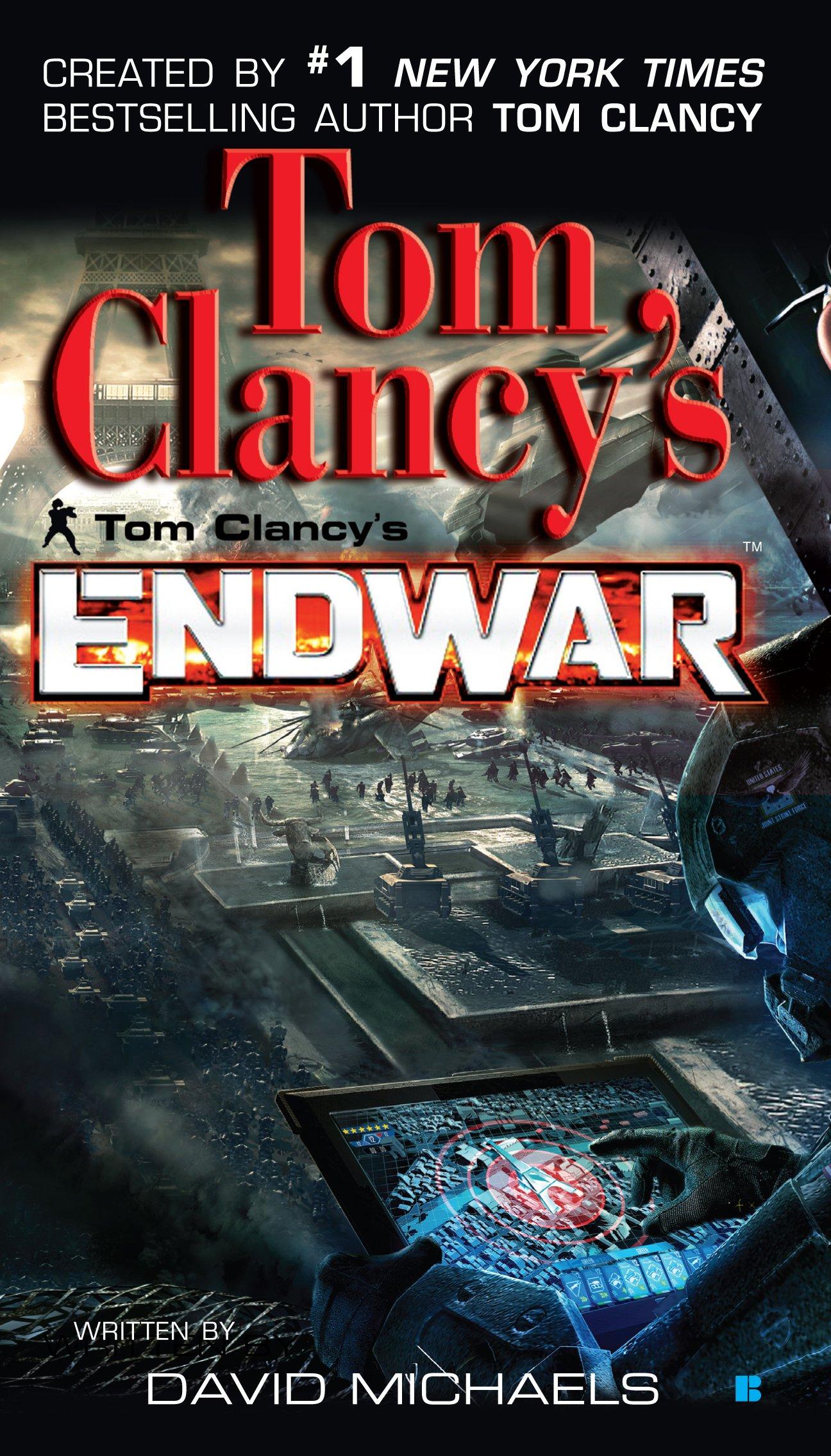 Book Cover Series Wiki : Tom clancy s endwar novel wiki fandom powered