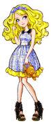 Profile art - Enchanted Picnic Blondie